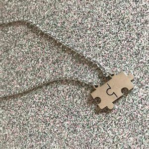 Stainless Steel Puzzle Necklace